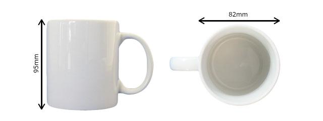 マグカップサイズ