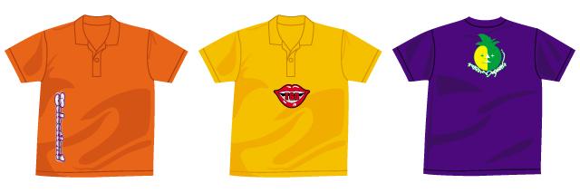 オリジナルプリントTシャツBセット製作例