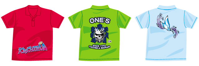 オリジナルプリントTシャツCセット製作例