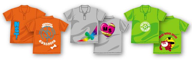 オリジナルプリントTシャツFセット製作例